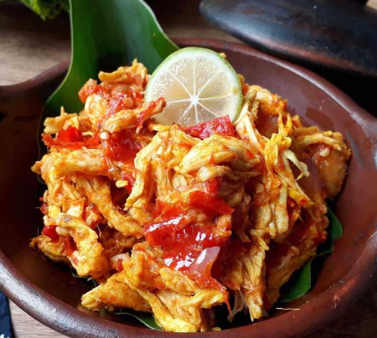 Makanan Khas NTB Ayam Pelalah