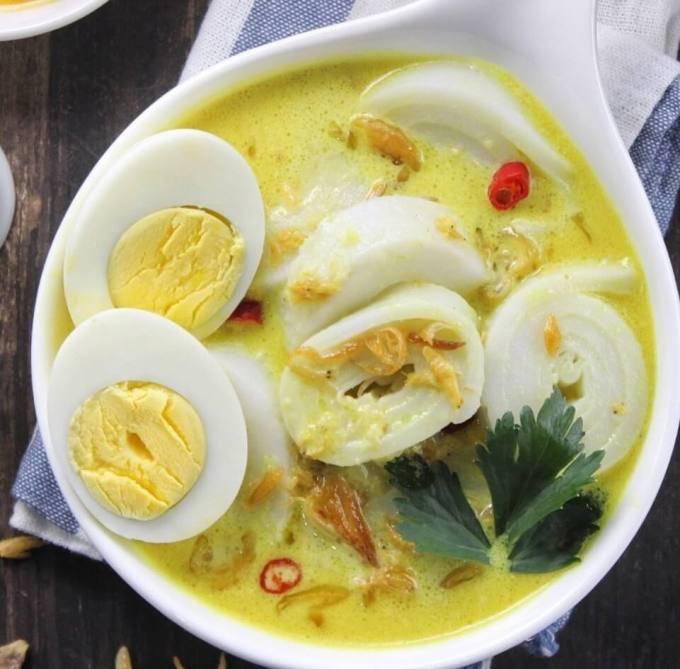 Makanan Khas Palembang Burgo