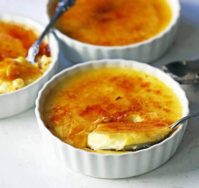 Makanan Khas Perancis Crème Brulee
