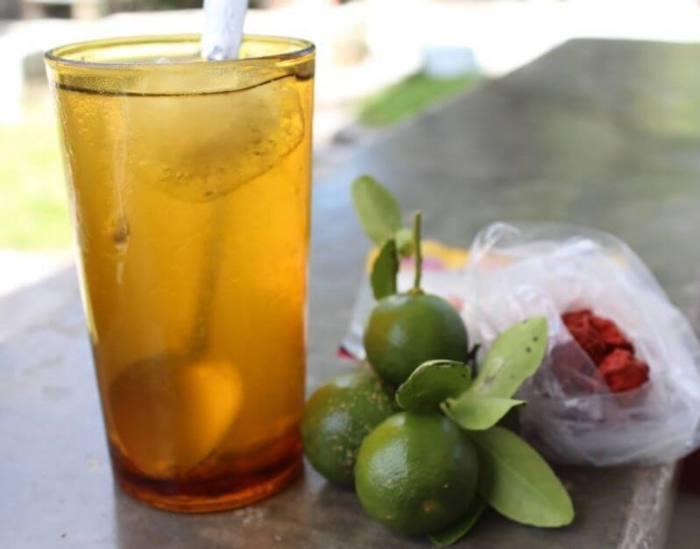 Makanan Khas Bangka Belitung Es Jeruk Kunci