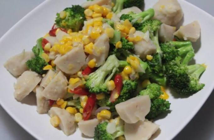 Resep Menu Buka Puasa Tumis Brokoli Bakso Sapi