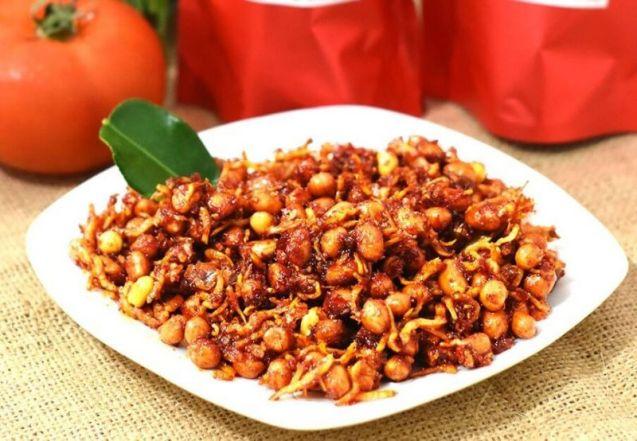 Teri Kacang Balado