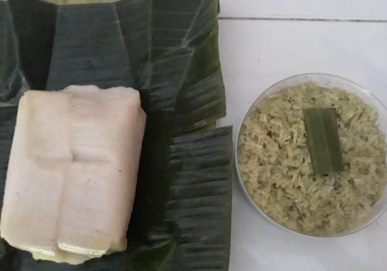 Makanan Khas Daerah Jaje Tunjak Lapis Poteng