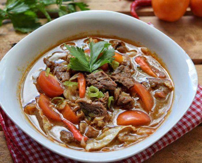 Resep Olahan Daging Tongseng Kambing