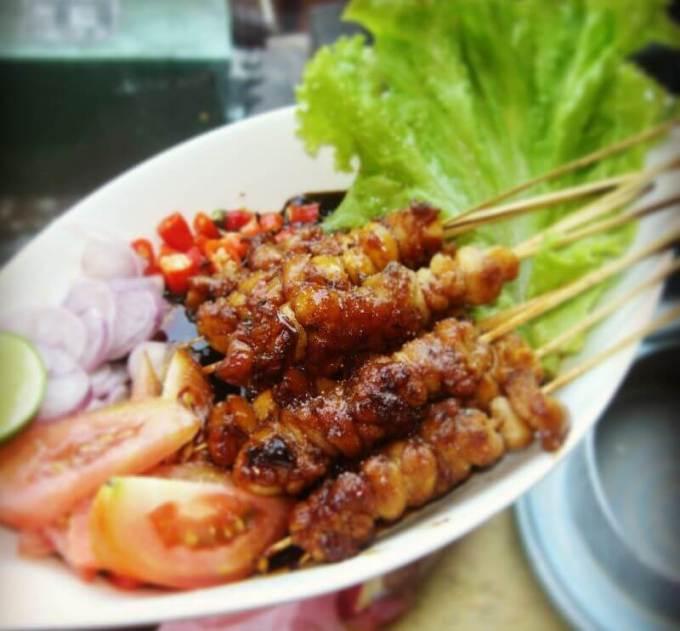 makanan khas mojokerto_sate bangil