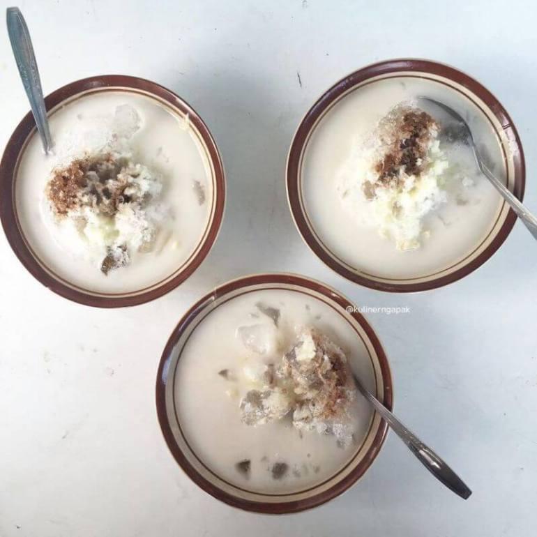 makanan khas purbalingga es durian