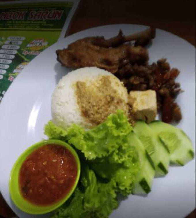 makanan khas purbalingga ayam goreng mbok sarun
