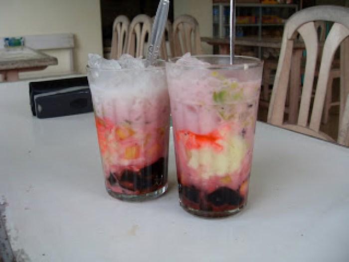 Minuman khas tasikmalaya es bojong