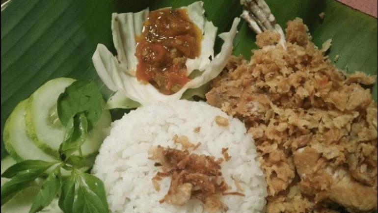 makanan khas temanggung ayam geprek nonix