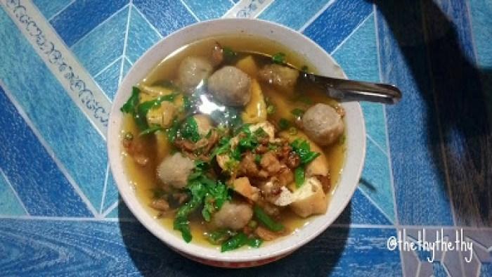 makanan khas temanggung bakso uleg