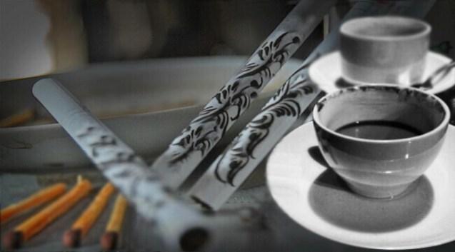 makanan khas tulungagung kopi ijo dan cethe