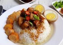 Resep Chinese Food Nasi Bakmoy Ayam Spesial