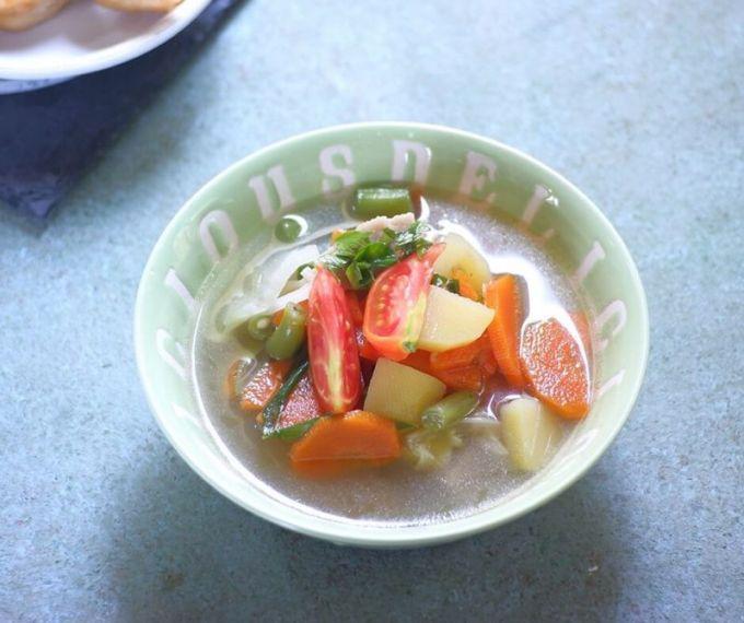 Resep Dapur Umami Sayur Sop Sajiku