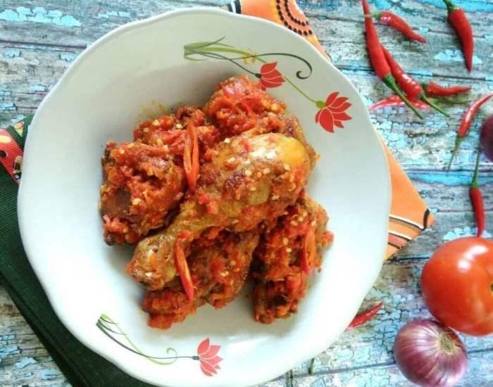 Bumbu Resep Ayam Balado Padang