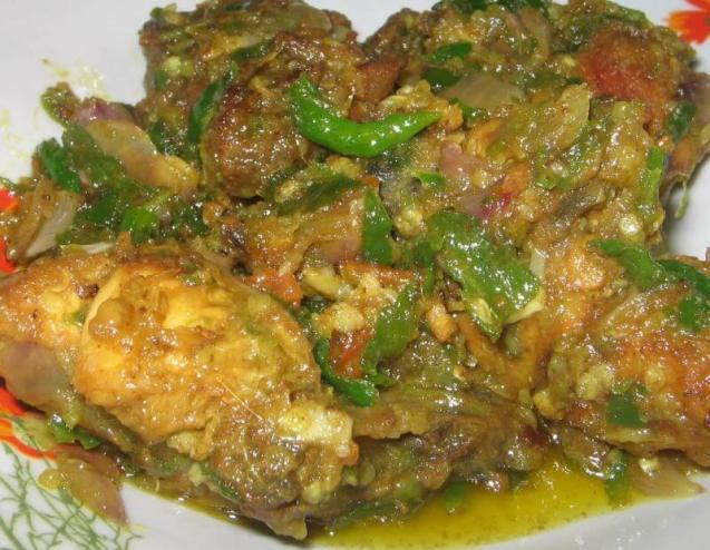 Bumbu Resep Ayam Balado Sambal Ijo