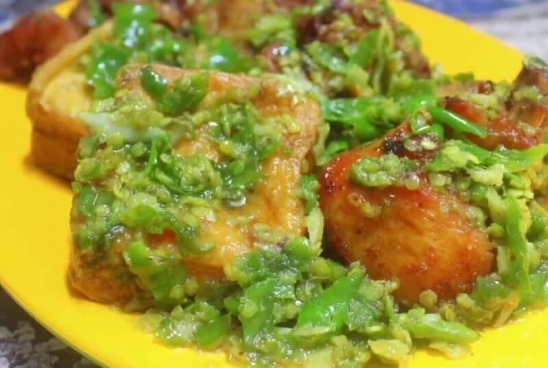 Resep Ayam Cabe Ijo Podomoro