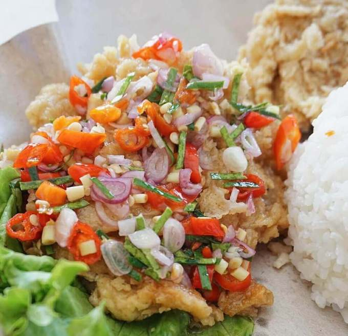 Resep Ayam Crispy Sambal Matah Praktis