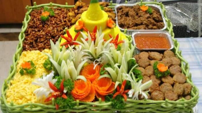Resep Nasi Tumpeng Kuning - Bosmeal.com