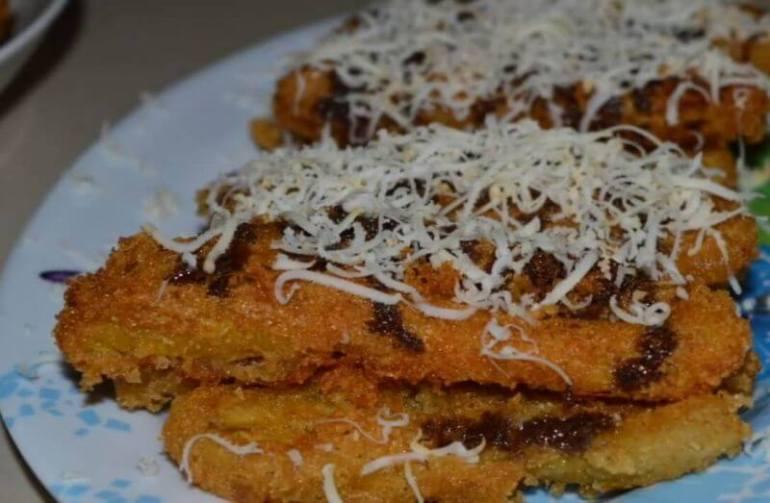 Resep Pisang Keju Crispy - Bosmeal.com