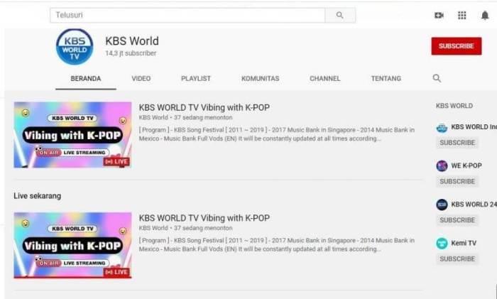 Nonton Drama Korea KBS World