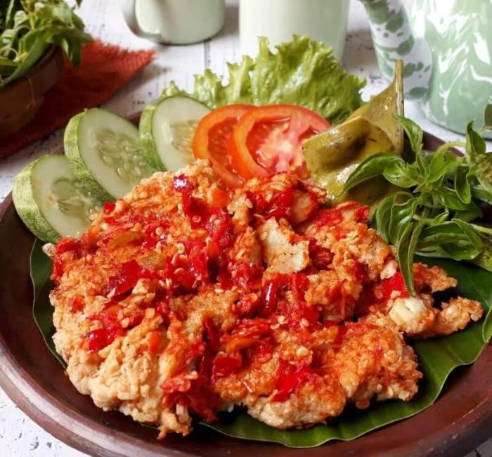 Menu Resep Masakan sehari-hari mudah Praktis Ayam Geprek