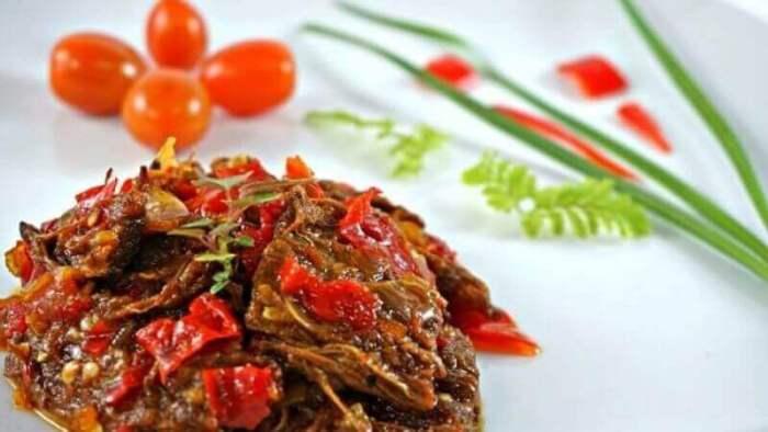 Nama Makanan Khas Ciamis Dendeng Sapi - Bosmeal.com