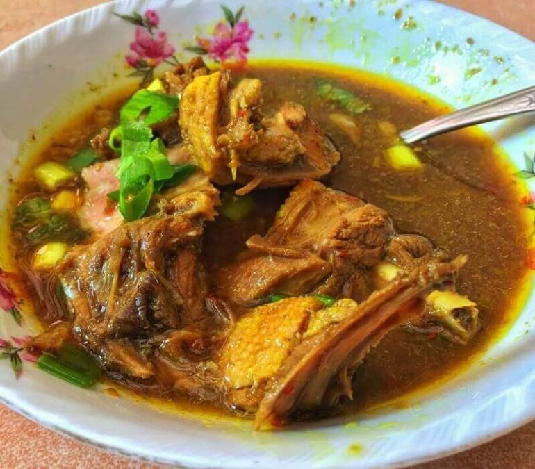 Nama Makanan Khas Indramayu pedesan entog - Bosmeal.com