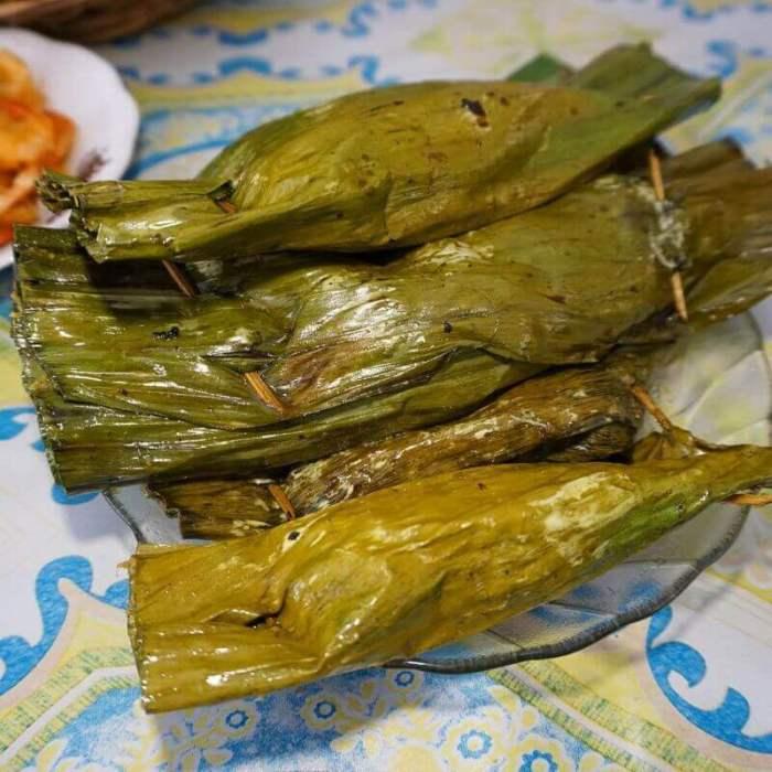 Oleh oleh Makanan Khas Karawang Pepes Walahar - Bosmeal.com