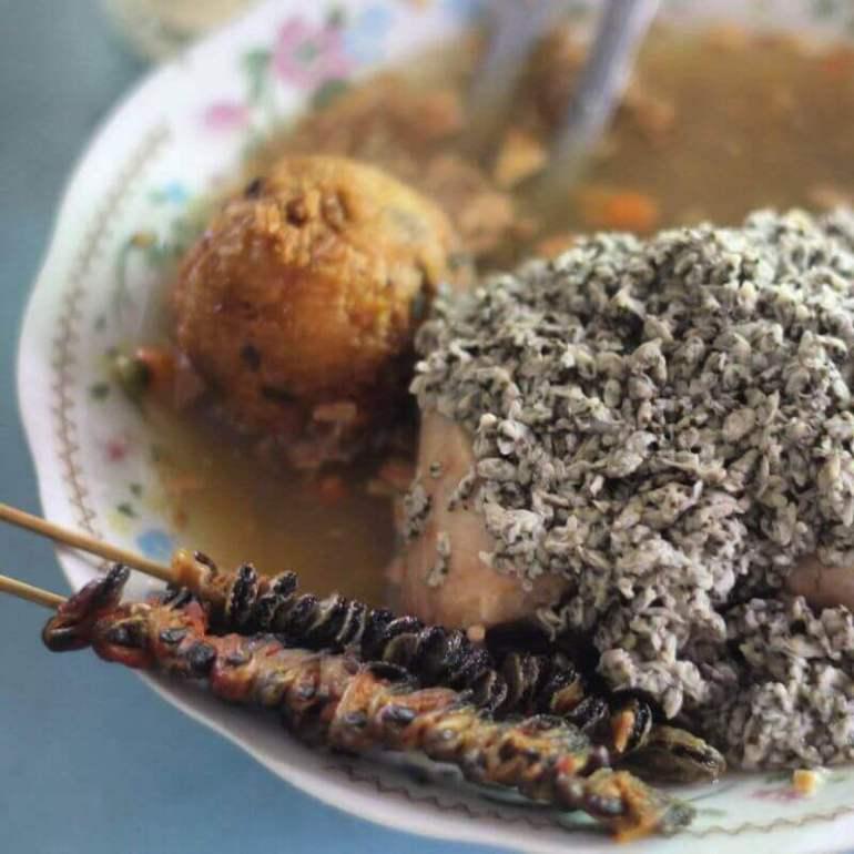makanan khas pasuruan - lontong kupang kraton