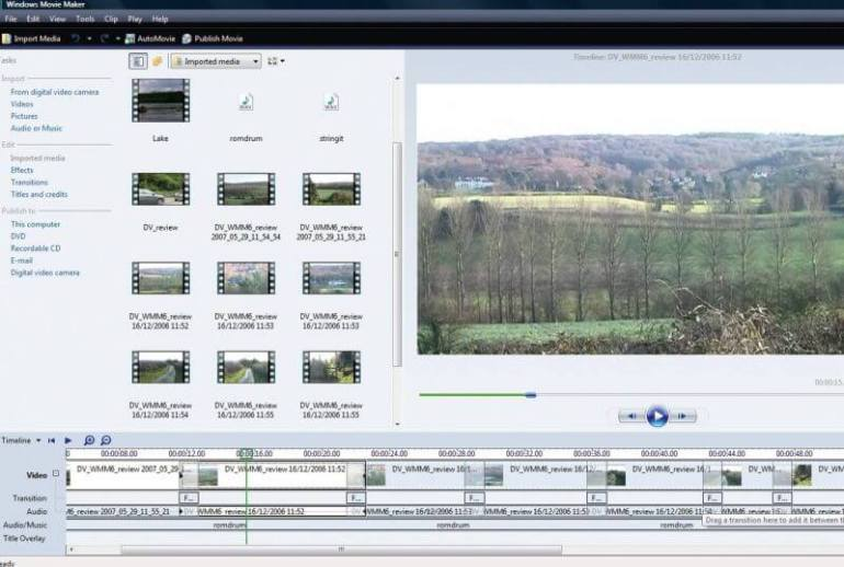 Aplikasi Edit Video PC Windows Movie Maker