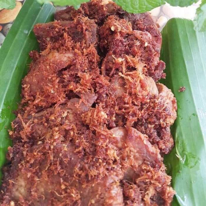 Oleh oleh Makanan Khas Wonosobo Dendeng Gepuk