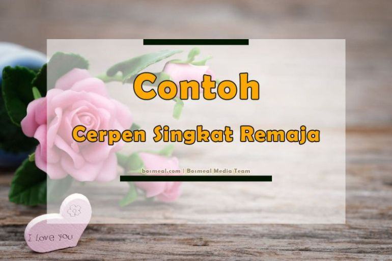 Contoh Cerpen Singkat Remaja - Bosmeal.com