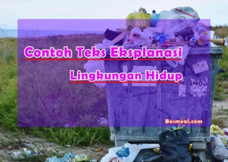 Contoh Teks Eksplanasi Singkat Lingkungan Hidup - Bosmeal.com