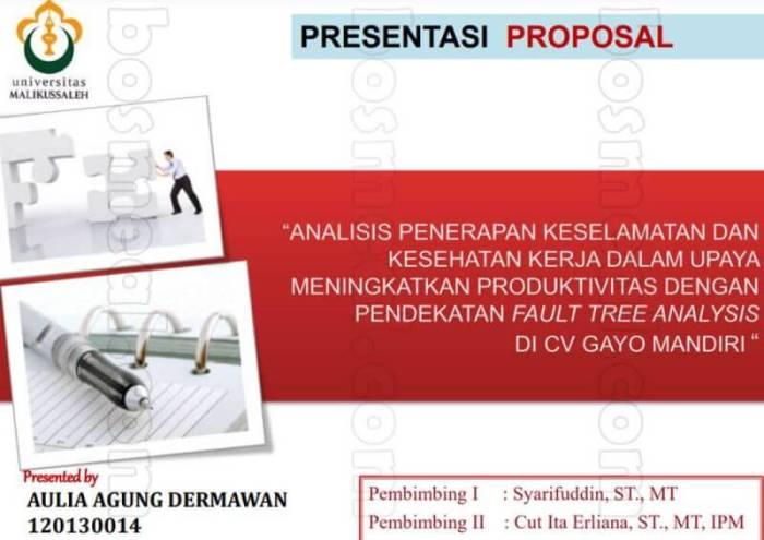 Persiapan Seminar Contoh Proposal Skripsi