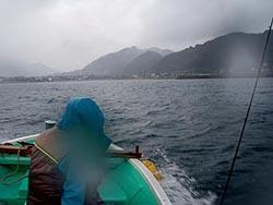 岩井沖ボート釣り