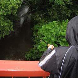 北海道の川釣り