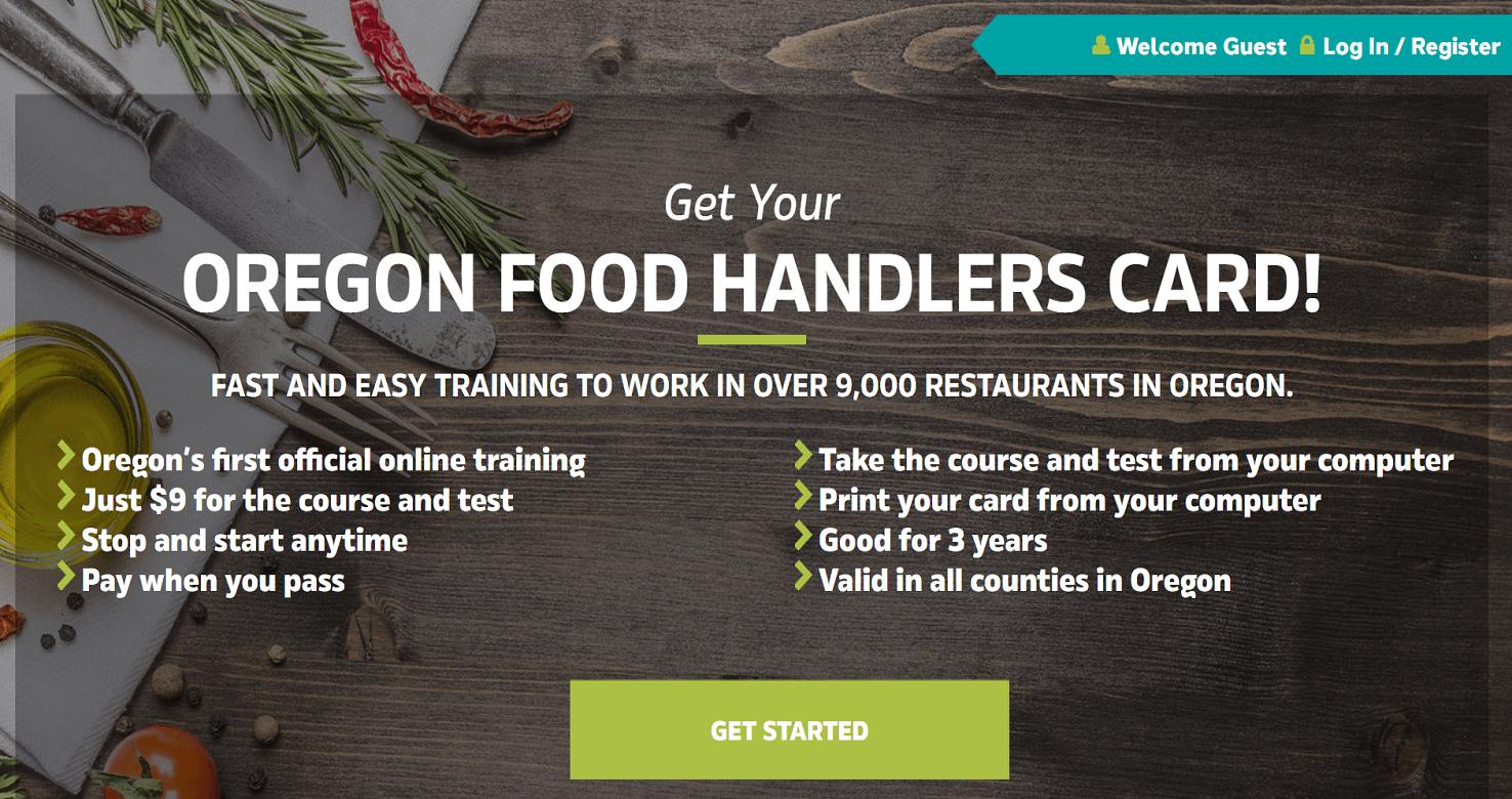 Oregon Food Handler Card Portland Oregon Bosonhub Digital