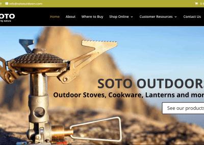 SOTO Outdoors – Lebanon, Oregon
