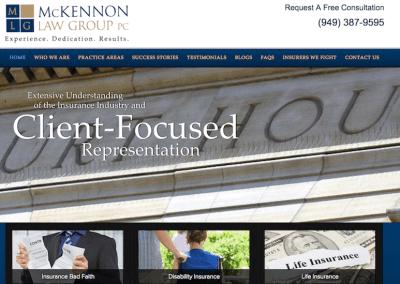 McKennon Law Group PC – Newport Beach, California