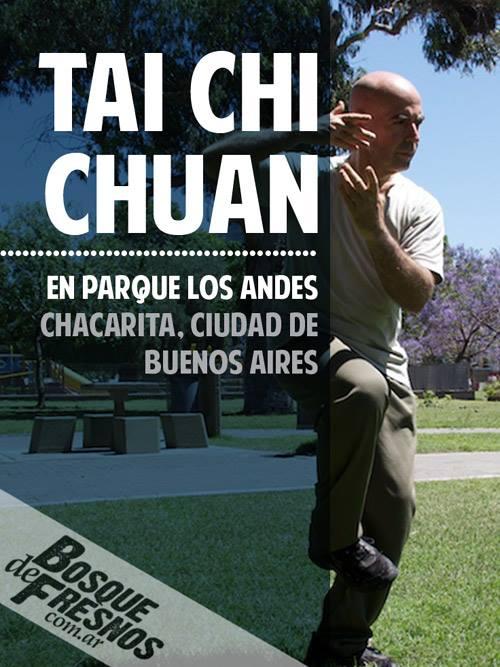 Tai Chi Chuan en Parque Los Andes, chacarita, ciudad de buenos aires
