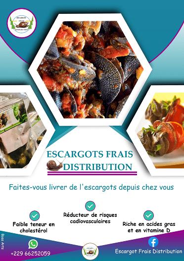Flyers Escargot Frais Distribution par Boss Arts