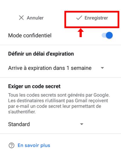 Gmail-Enregistrer-le-mode-confidentiel-sur-telephone-smartphone-android-Boss-Arts