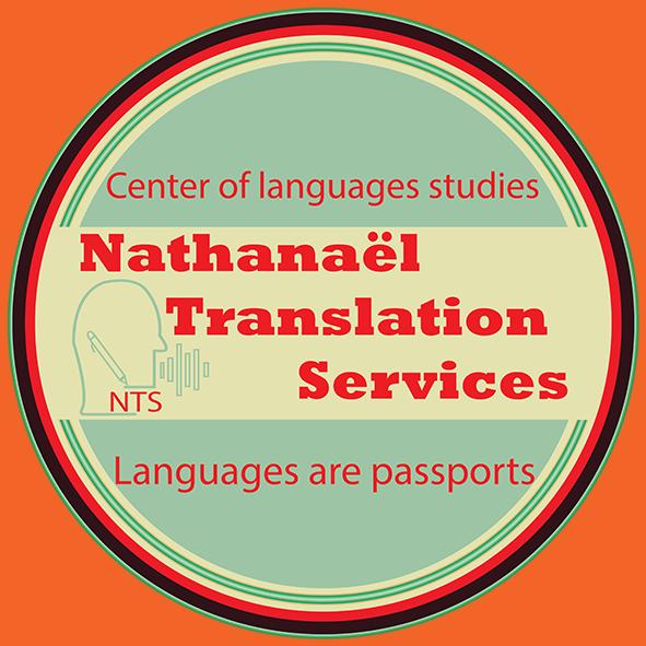 Logo Nathanael services translation par Boss Arts