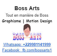 signature Gmail par Boss Arts