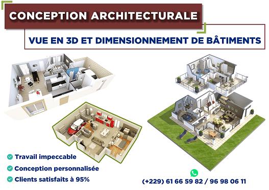 Conception architecturale vue en 3D et dimensionnement par Boss Arts