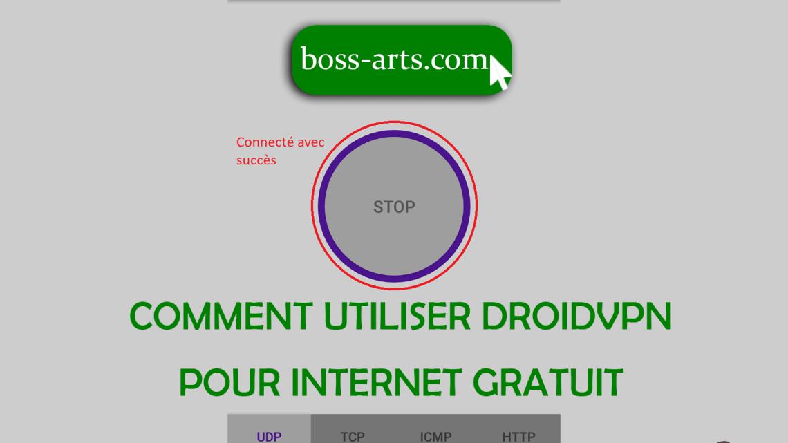 Comment utiliser DroidVPN pour internet gratuit