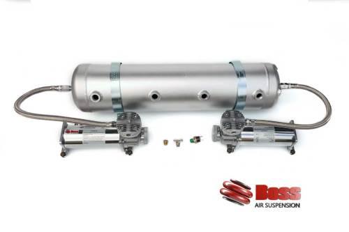 Mini Truck twin air compressors