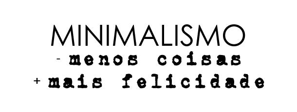 organização, minimalismo e budismo