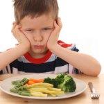Não se desespere se o seu filho não come