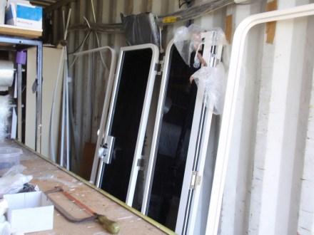 Bi-fold doors arrived